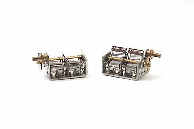 AIR VARIABLE CAPACITOR 2 X 400 pF B NOS (NEW OLD STOCK) 1PC. CA175U15F011216