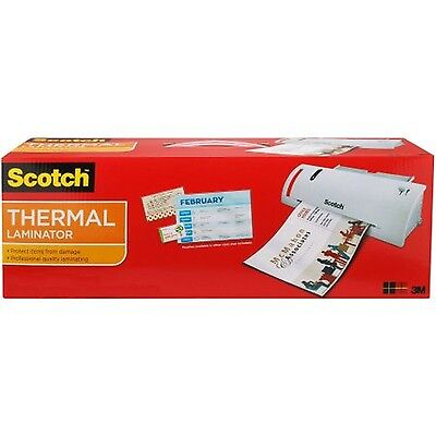 Scotch Thermal Laminator with 5 Pouches Fast Quick Laminating 2 Roller System