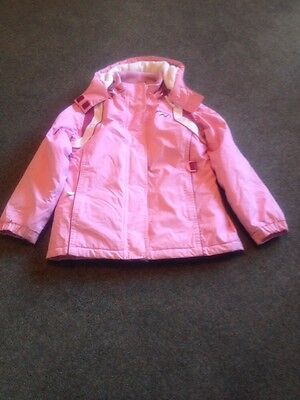 Next Girls Winter Jacket Snow chic In Pink Age 9 To 10 Height 140 Cm