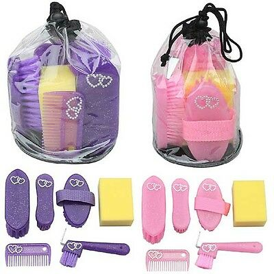 New Diamonte kids/Junior Glittery Grooming Kit Elico Wexford kit*FREE DELIVERY*