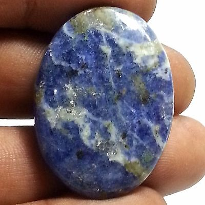 39.00 Cts 100% Natural New Sodalite Beautiful Sparkling Oval Cab Loose Gemstones