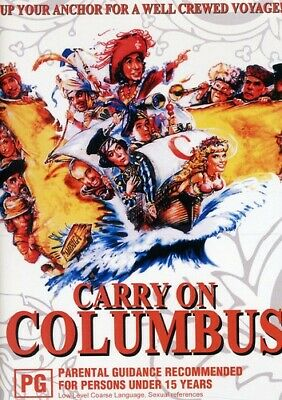 Carry On Columbus (2010, DVD NUEVO) (REGION 4)
