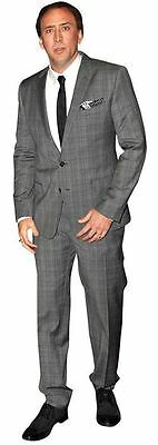 Nicolas Cage Cardboard Cutout (life size OR mini size). Standee. Stand Up.