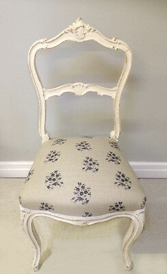 OLD FRENCH LOUIS XV STYLE CHAIR c.1900
