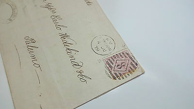 Gb Cover Qv 1879 Palermo London --- Check Other Auctions Post Letter Card
