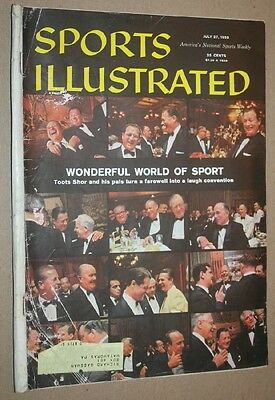 Sports Illustrated July 27, 1959 Wonderful World of Sports