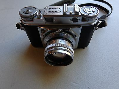 Voigtlander Prominent 35MM Camera With Ultron 50MM F2 Lens
