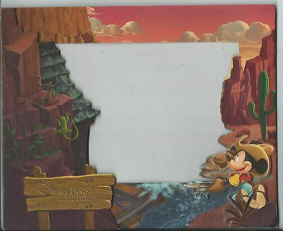 cadre photo format 24 x 19,5 Euro Disney Disneyland Big Thunder Mountain TTB