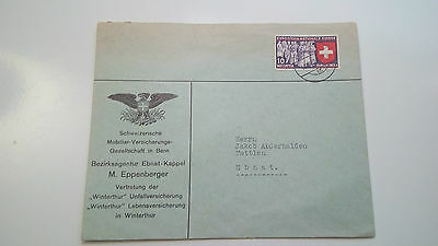Switzerland Helvetia Cover -- Check Other Swiss Post Letter Card Items