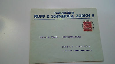 Switzerland Helvetia Cover 1916 Ebnat Check Other Swiss Post Letter Card Items