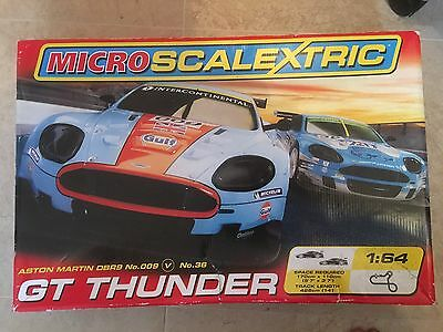 Micro Scalextric Gt Thunder