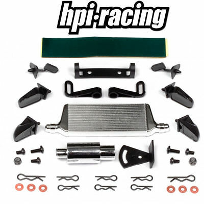 HPI # 85613 - BODY TUNER KIT Inter cooler Exhaust Mirrors RC Drift Car RS4 E10