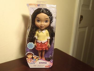 """Dora And Friends 8 Inch """"emma"""" Doll By Fisher Price. New"""