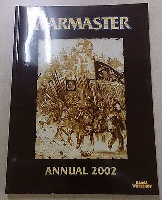 Warmaster 1ST EDN ANNUAL 2002 oop rare!