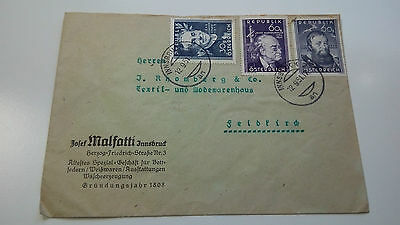 Austria Cover 1951 -- Check Other Post Letter Card Items