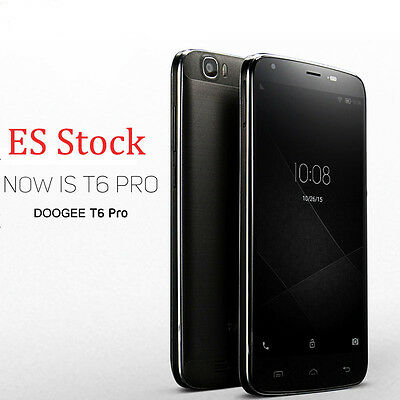 ES Stock DOOGEE T6 Pro 5.5'' 4G LTE Móviles Android 6.0 Octa Core 3GB+32GB OTG