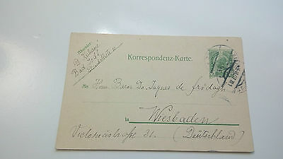 Austria Cover 1907 Wiasbaden -- Check Other Post Letter Card Items