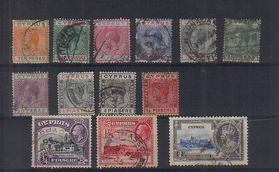 Cyprus George V Used collection