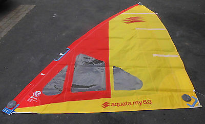 "Surfsegel High Clew  6m² NORTH SAILS MY 6 qm"" DEKO [53]"