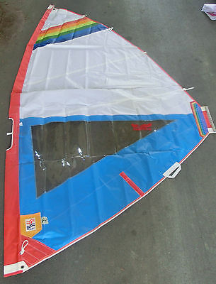Surfsegel High Clew  6m²  SAIL SPORTS EAGLE WING mit VARROTOP [64] gebr.