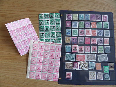 Germany Early unmounted mint collection