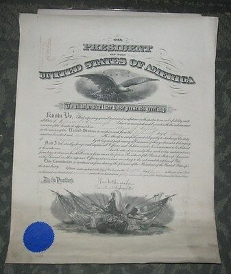 1917 Wwi Officers Commission - Major - Infantry - William A Cavenaugh