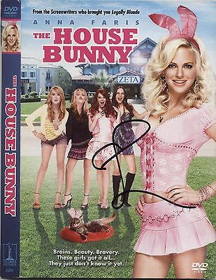 EMMA STONE AUTOGRAPHED SIGNED THE HOUSE BUNNY DVD AUTHENTIC PHOTO PROOF Easy A