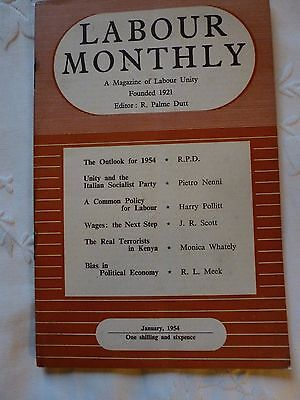 Labour Monthly Booklet January 1954