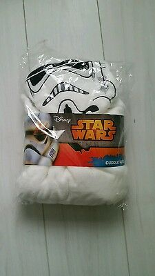 starwars cuddle robe new one size