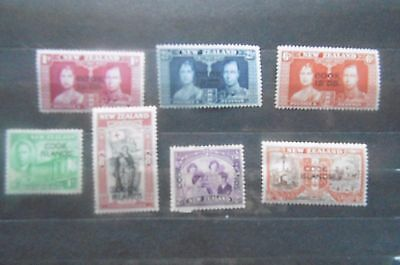 Cook Islands 1937 /46  sets MH