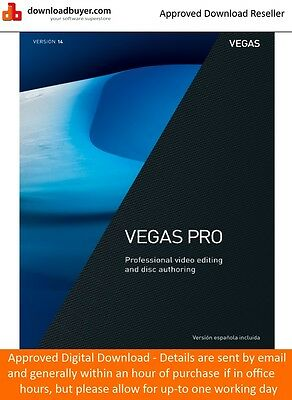 Magix Vegas Pro 14 - for PC - (Approved Digital Download)