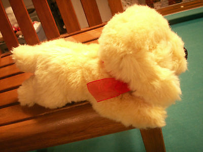 Russ plush dog Buttercup 10in yellow labrador retriever stuffed puppy toy