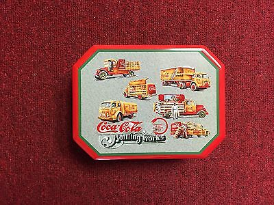 Collectible Coca Cola Bottling Works Tin Box