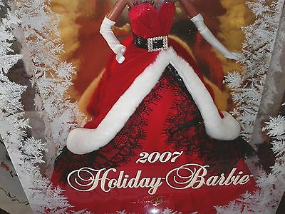 OUTFIT BARBIE HOLIDAY 2007 - NUOVO - abito fashion dress model doll collection