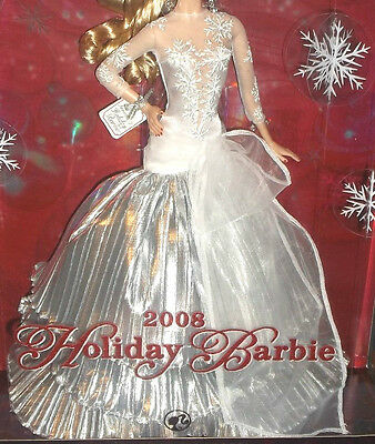 OUTFIT BARBIE HOLIDAY 2008 - NUOVO - abito fashion dress model doll collection