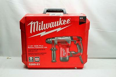 NEW! Milwaukee 5268-21 1-1/8 in. SDS-Plus Rotary Hammer