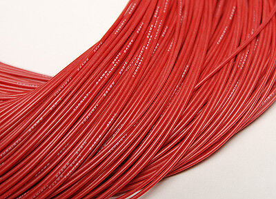 """Turnigy Pure-Silicone Wire 24AWG (36"""") RED"""
