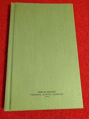 Federal Supply Service Unused Journal