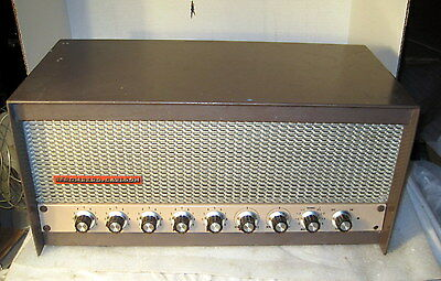Stromberg Carlson Model APH-1030 Amp and SCP-1005 Preamp Combo
