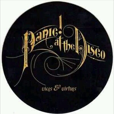 PANIC AT THE DISCO Vices & Virtues RARE New Sticker