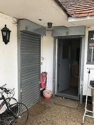 Security Door Roller Shutter with two locks and keys