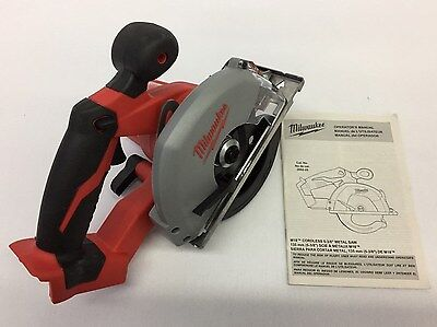 "Milwaukee M18 Cordless 5 3/8"" Metal Saw Catalog #2682-20 (Bare Tool) New"
