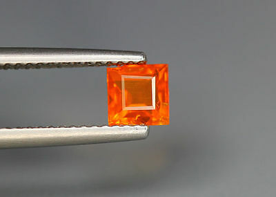 0.50 Cts_Top Grade Stunning !!! Gemstone_100 % Natural Mexican Orange Fire Opal