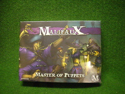 Malifaux  -Neverborn- Collodi Crew- Master Of Puppets   Wyr20409