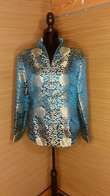 Lian Lin  Silk Chinese Brocade Dinner Jacket