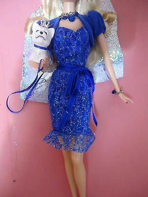 OUTFIT BARBIE BIRTHSTONE BEAUTIES - NUOVO - fashion dress doll collection