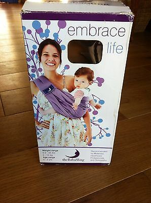 Baba Sling Carrier With Box Storage Bag And Instructions