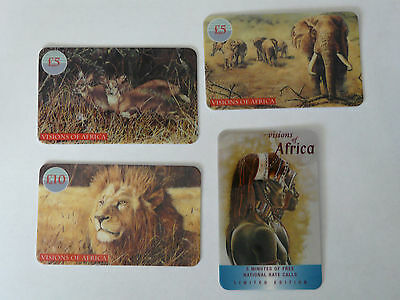 Collectable4 Used Visions of Africa Telecard UK phone cards limited edition