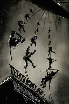 2013  Zero Dark Thirty Movie  Poster Jock Mondo Tees Mint *in Hand* 73/340