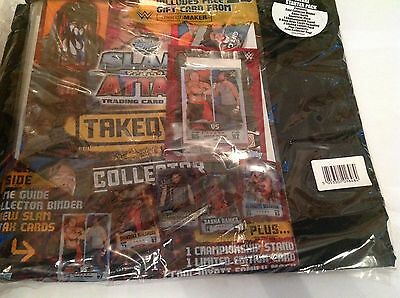 Slam Attax Deluxe Takeover Starter Pack Including Edition Card Wwe,wrestling